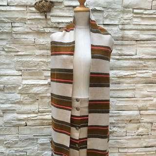 Chanel羊绒半裙+圍巾