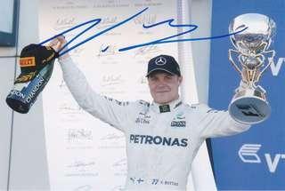 Formula One/F1 Autograph - Valtteri Bottas