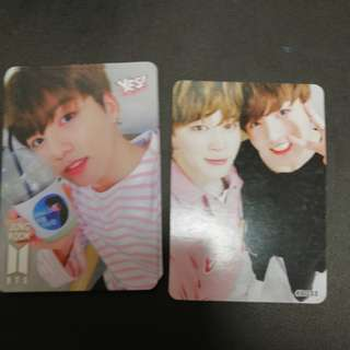 BTS JUNGKOOK yes card