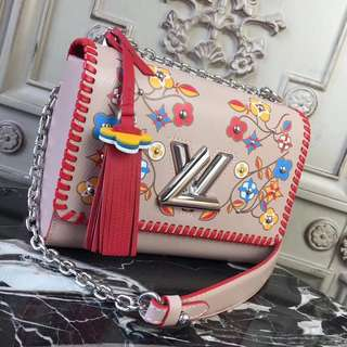 LV twist shoulder bag