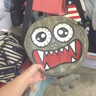 Sling bag monster