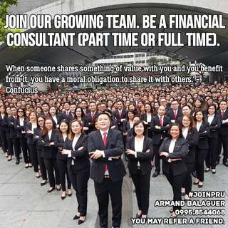 Financial Consultant (Part time or Full time)