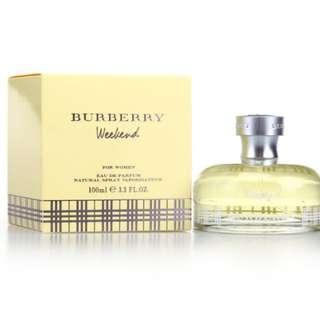Burberry Weekend Perfume brand new 100ml Tester set EDP