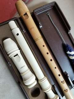Flute Musical In Bamboo, 110 for Both.