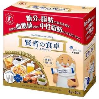 🚚 日本 大塚製藥 賢者的食卓 (6gX30包)X4個