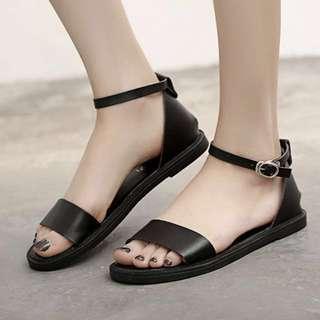 [PO] strap buckle sandals
