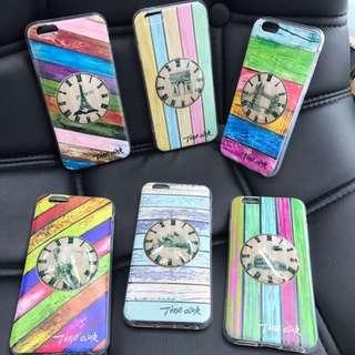 clock back case for iphone 7/7+/OPPO F1S/F3+/VIVO V5S/Y53