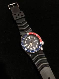 Seiko Automatic Diver's 200m 21 Jewels Watch