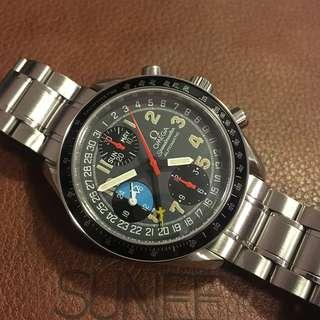 OMEGA Speedmaster 日月星全曆計時手錶