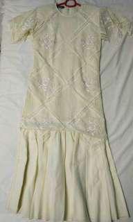 White Vintage Gown
