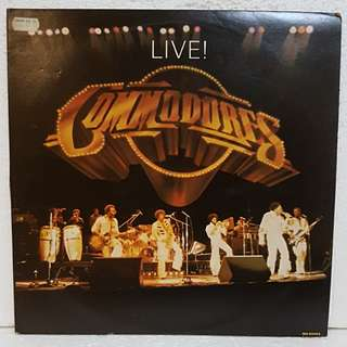 Commodores - LIVE! (2 LPs) Vinyl Record