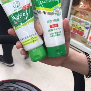 Mentholatum Acnes Creamy Wash from Japan