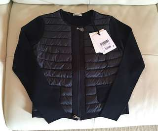 Size XS 胸43.5cm /M 胸48cm 全新Moncler knit down jacket