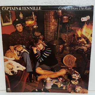 Captain & Tennille - Come In From The Rain Vinyl Record