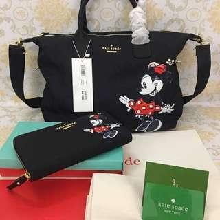 Kate Spade Mickey Mouse Bag set