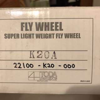 Toda Racing Lightweight Flywheel (3.8kg) K20