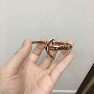 Paul Hewitt 船錨不鏽鋼手環 金