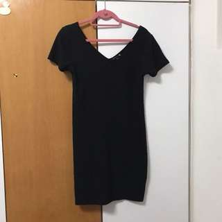 Cotton on casual black dress