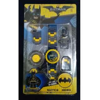 Batman Lego-inspired Watch