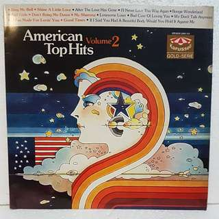American Top Hits Vol 2 Vinyl Record