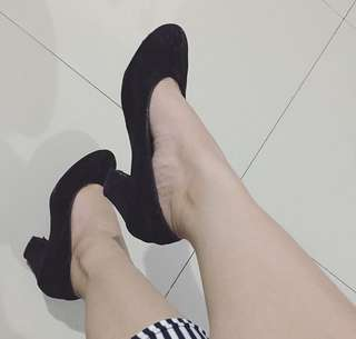 Pentovel shoes black