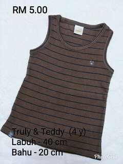 Singlet shirt Truly & Teddy
