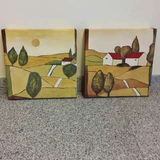 Canvas Painting Set of 2