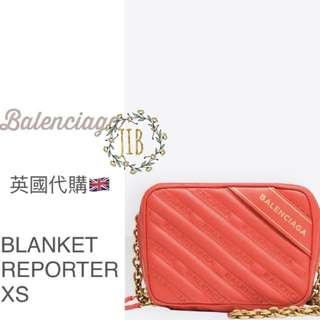 Balenciaga ❤️ BLANKET REPORTER XS