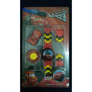 Cars Lego-inspired Watch