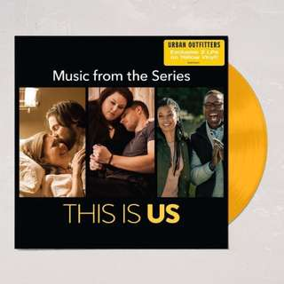 [Limited Yellow Vinyl] This Is Us - Music from the TV Series 2LP