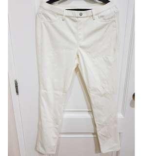 UNIQLO White Women Leggings Pants