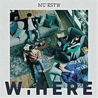 NU'EST W - W,HERE ( Taiwan Edition Taiwan Press ) 台湾限定版