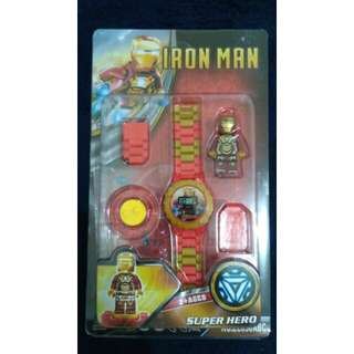 Ironman Lego-inspired Watch