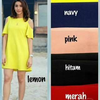dress sunny cnd wrna bhn wedges scuba fit L good quality