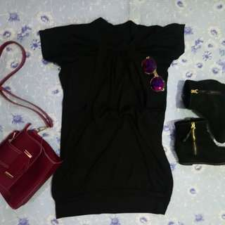 Black Casual/Formal Dress