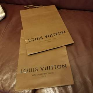 Louis Vuitton 纸袋