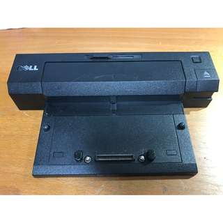 Dell E-Port Replicator PR02X Docking Station with 130W AC/DC Adapter For Dell E Series Laptop / Notebooks