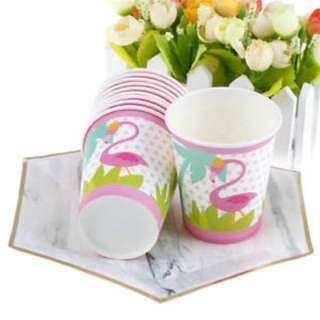 Flamingo Paper Cups 10s