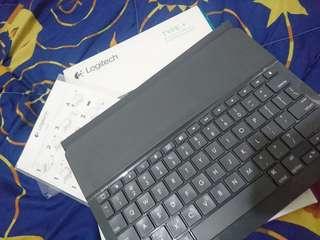 Logitech Bluetooth Keyboard for ipad 2 worth 5k