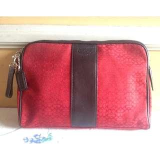 COACH Brand Pouch / Clutch Bag