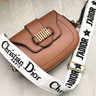 Dior D Fence Saddle Bag