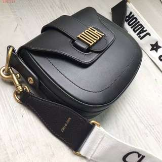 Dior D fence Saddle Bag