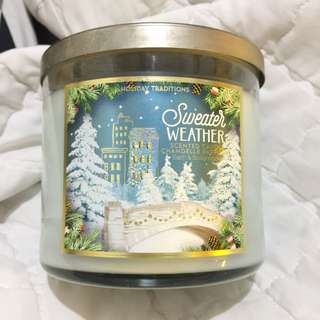 Bath and Body Works Scented Candle