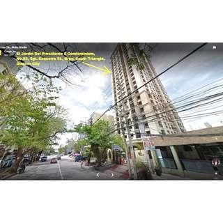 For Sale Bank Foreclosed Condo Unit in Jardin Del Presidente 2 Sgt.Esguerra St Quezon City