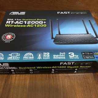 Asus Dual-band Wireless -AC1200 Gigabit Router