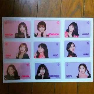 [PO] Twice Rare Japan Limited Edition Transparent Photocard