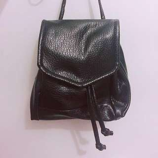 PU Petite Leather Backpack