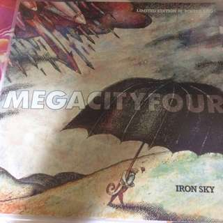 "NM Mega city four ep record vinyl limited 10"" iron sky punk rock etc"