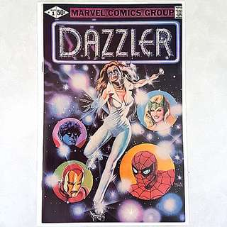 Marvel Comics Dazzler 1 Near Mint Condition  Bronze Age