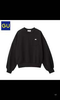 GU Hello Kitty Sweater Black